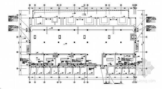 [黑龙江]铸造车间采暖通风设计施工图