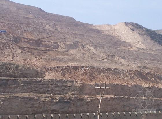 [陕西]黄土高原高速公路边坡滑坡治理地质勘察报告