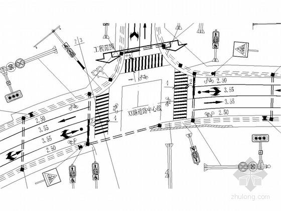 [安徽]城市道路交通信号控制基础设施施工图设计28张