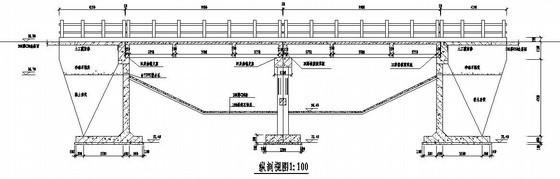 某10米×2跨公路板梁交通桥设计图