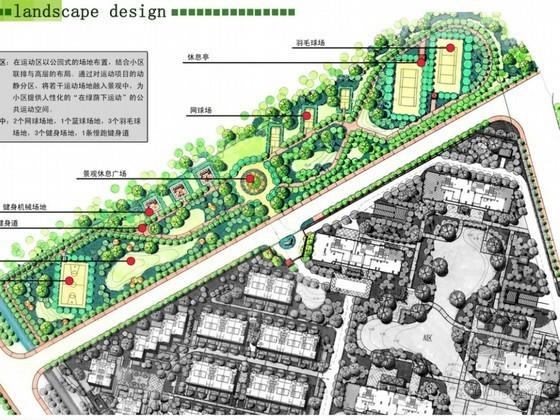 [杭州]高档居住区景观设计方案(二)
