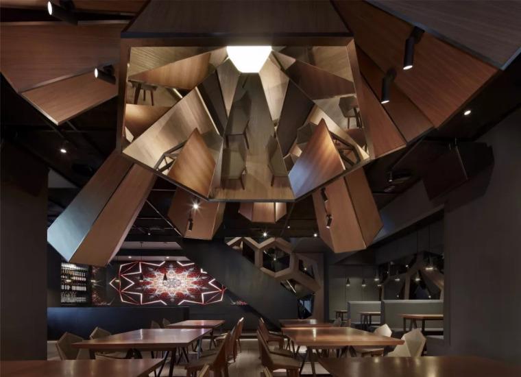 北京蓝色港湾花酷餐厅设计案例欣赏_16
