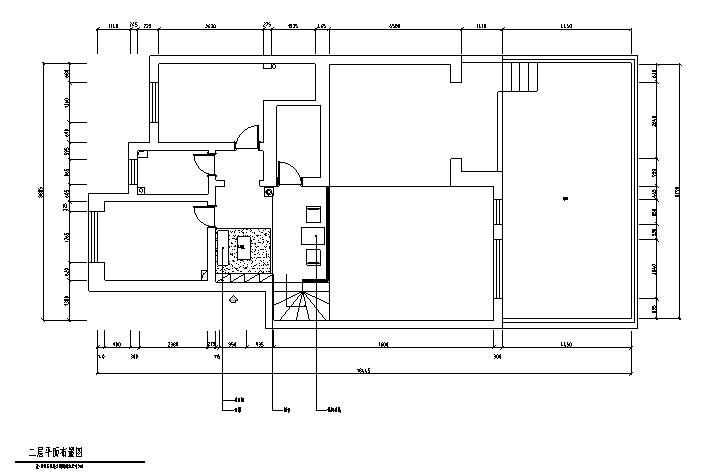 二层平面布置图