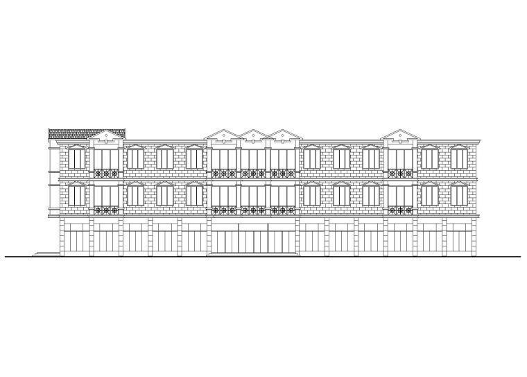 [辽宁]某大型超市建筑设计方案CAD图纸(CAD+效果图)