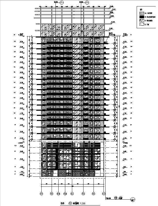 [安徽]办公、商业、住宅及其他功能建筑施工图(17年初图纸)