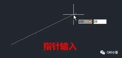 CAD怎么画倾斜的线?