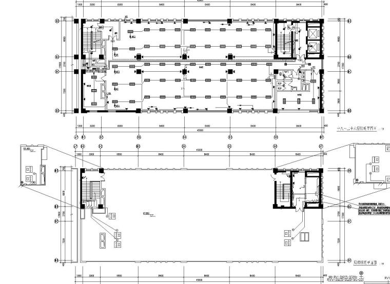[内蒙古]二十六层商业综合楼全套电气施工图(含办公、酒店、公寓)
