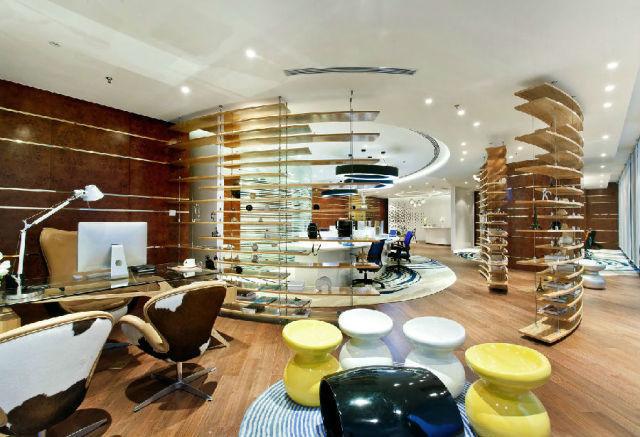 #办公楼#佛山:禅城绿地中心办公楼室内设计_4