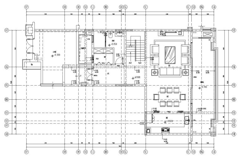 重庆万科悦湾洋房复式施工图设计