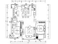 平行世界 江阴周庄丽景花园黑白灰空间住宅设计施工图(附效果图)