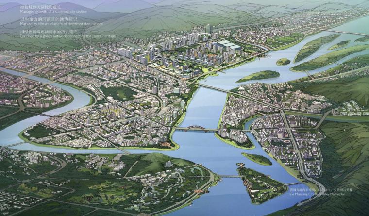 [四川]绵阳市滨水地区城市建筑设计方案文本