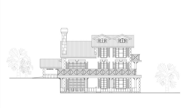 14套别墅方案图(含两层三层小别墅建筑)