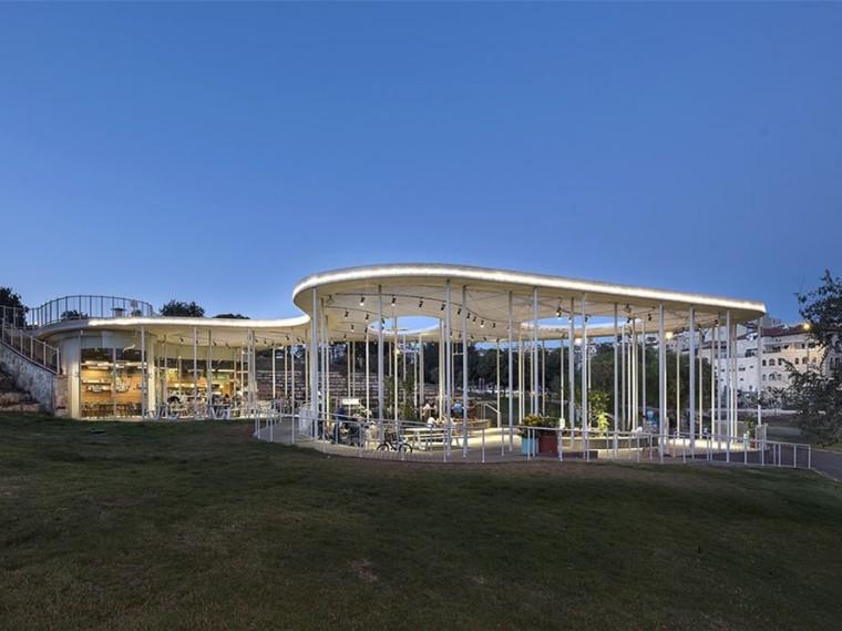 以色列Sacher公园咖啡厅