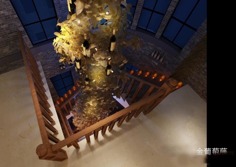 高档典雅红酒展示厅设计方案图-设计图 (29).jpg