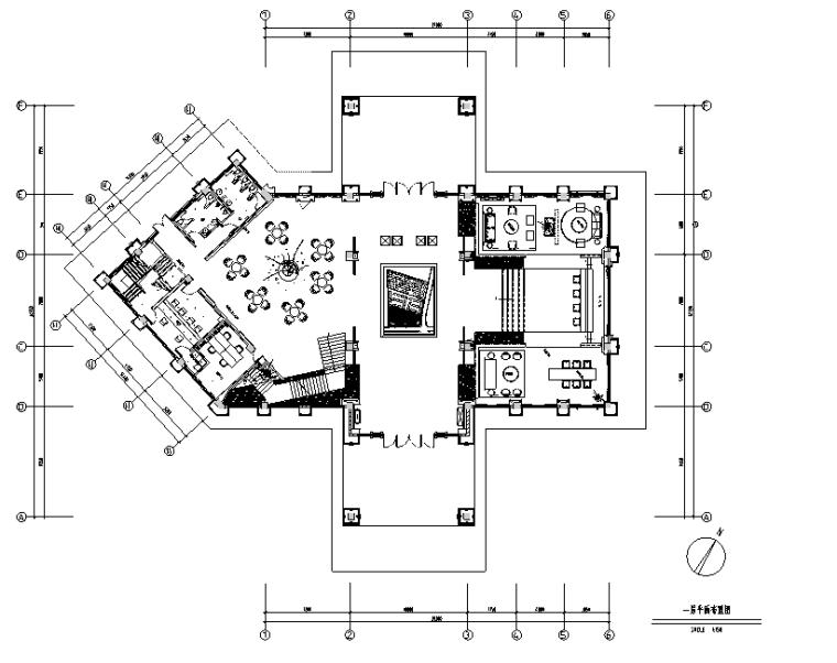 [四川]成都中洲锦城湖岸售楼处设计施工图(附效果图)