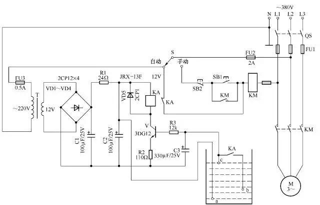 [电气分享]电气自动控制电路图实例精选,快收藏!_30
