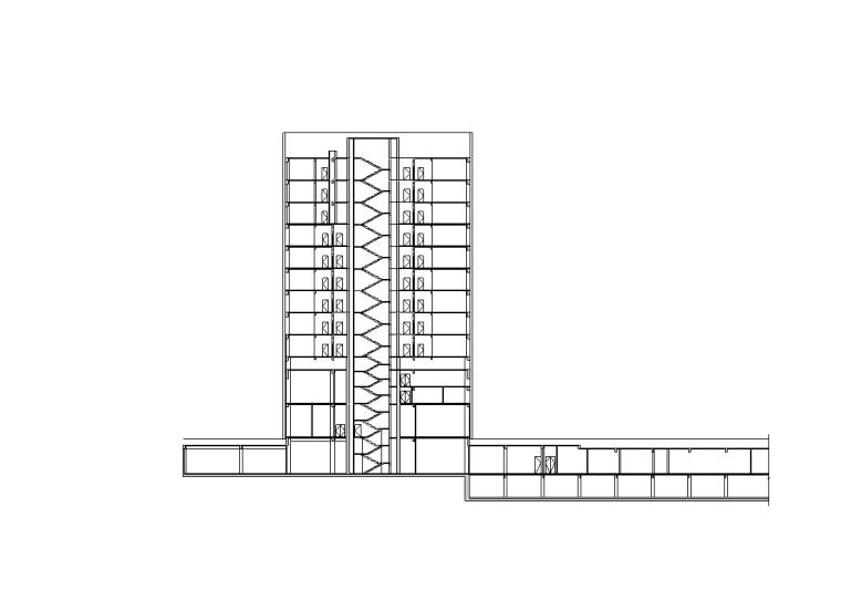 [上海]创智天地B地块办公建筑施工图设计(欧陆风格)