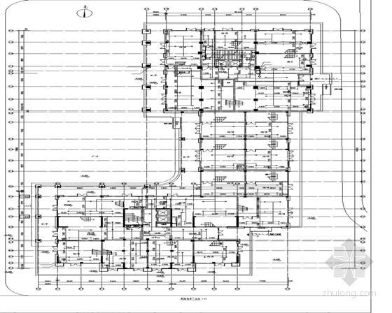 [河北]3万平米住宅小区给排水施工图纸