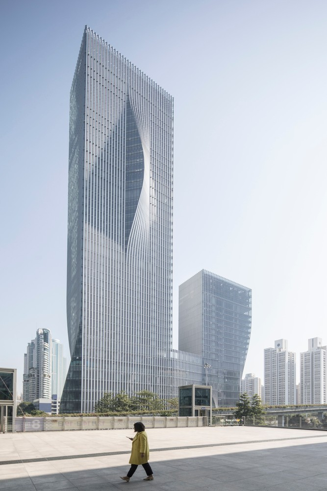 BIG新作,翻折表皮与节能空间—深圳能源大厦