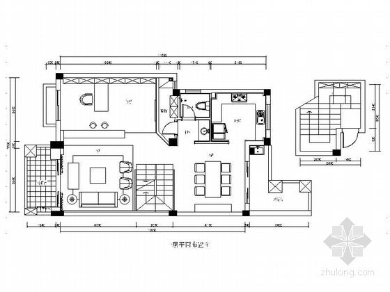 [福州]现代简约风格三层别墅样板间装修图(含效果)