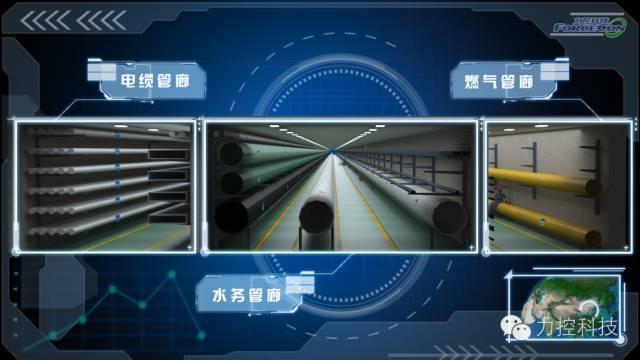 城市综合管廊三维监控管理解决方案