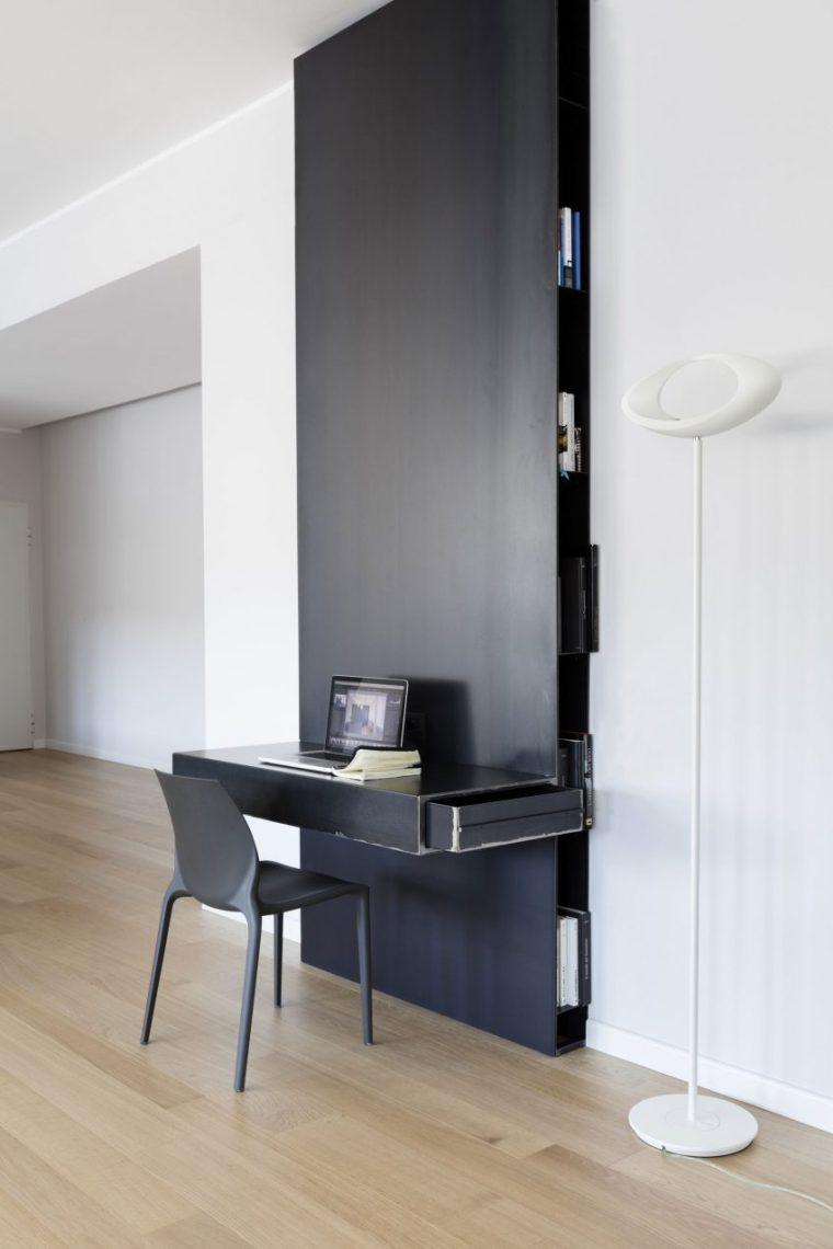 米兰:简洁淡雅的现代公寓_11