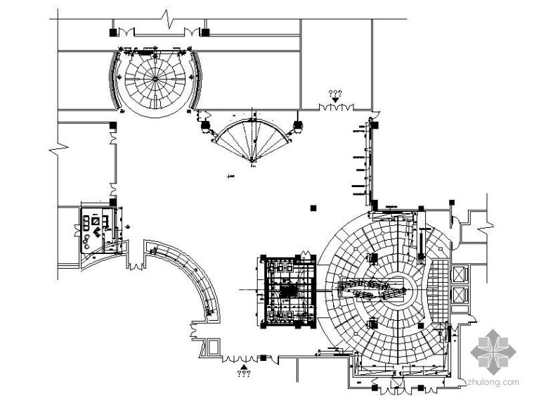 某科技园展厅施工装修图