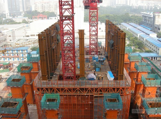 [QC成果]超高层内框筒悬挑钢平台引测定位方法研究