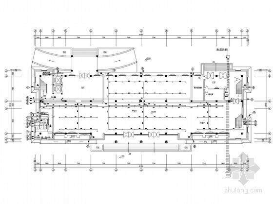 九层通信生产办公楼给排水、排烟及消防施工图