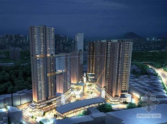 [河北]大型办公商务住宅城市综合体项目监理规划
