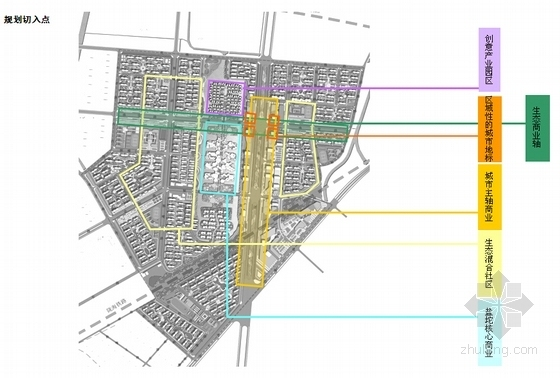 低碳知名地产规划及单体设计分析图