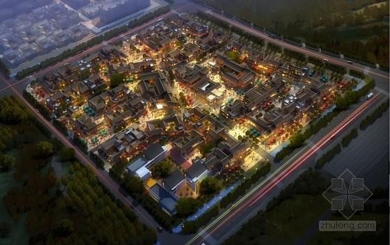 [成都]中式传统风格小镇规划设计方案文本(商住用地)