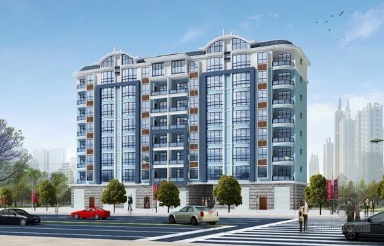 [江苏]23层商住楼项目开发经济指标及财务分析实例(全套表格)