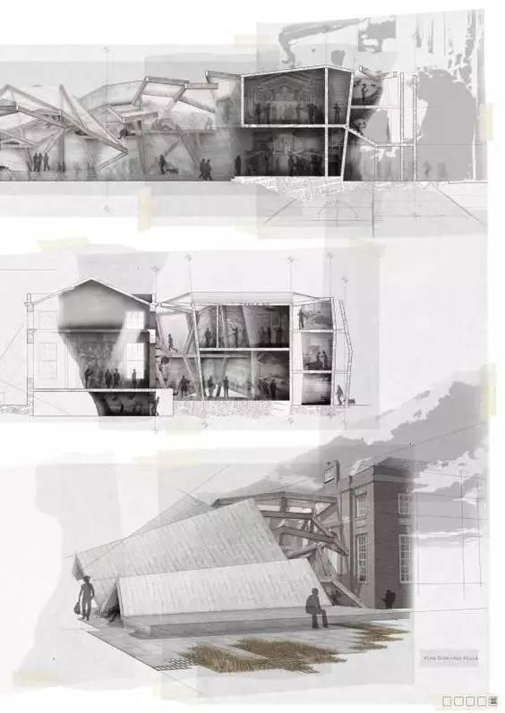 那些霸气的建筑剖面图_24
