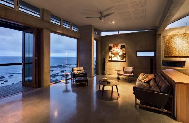 美式室内设计效果图-做旧的装潢装修_6