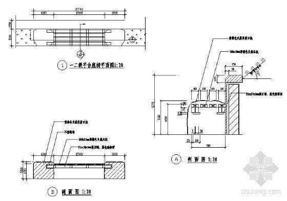 平台座椅详图-4