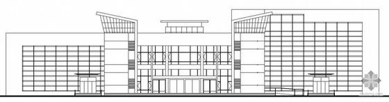 某三层社区服务中心办公楼建筑施工图