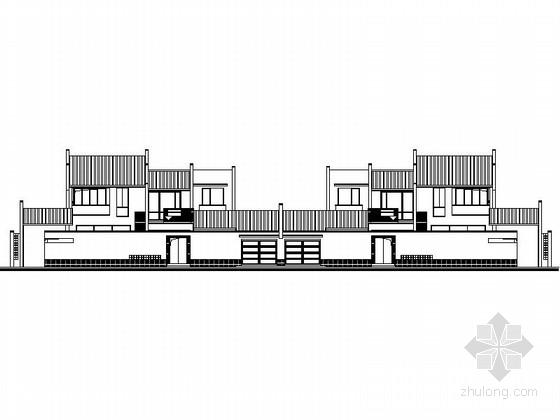 某两层中式风格独栋别墅建筑施工图