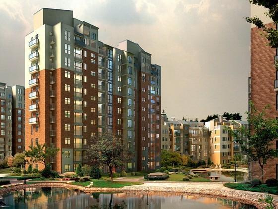 小区住宅3d模型下载