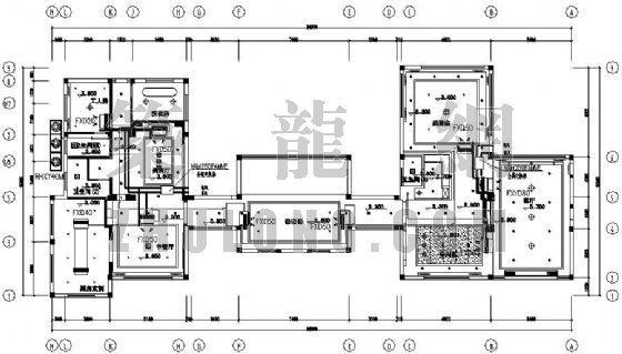 某别墅VRV中央空调设计图