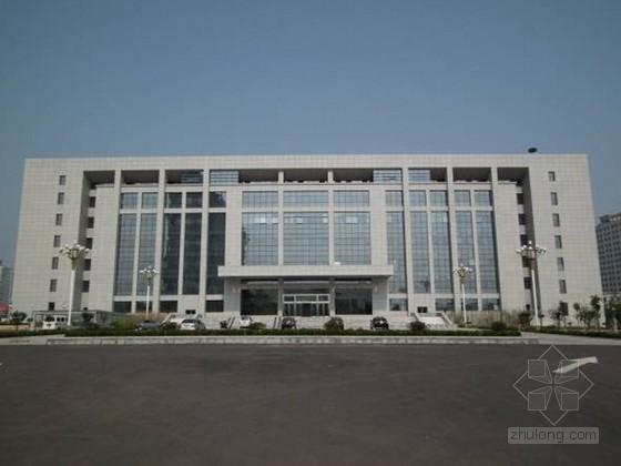 [河南]行政综合楼施工质量情况(鲁班奖申报PPT)