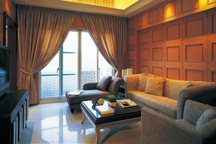 330平米独栋别墅新古典装修风格效果图