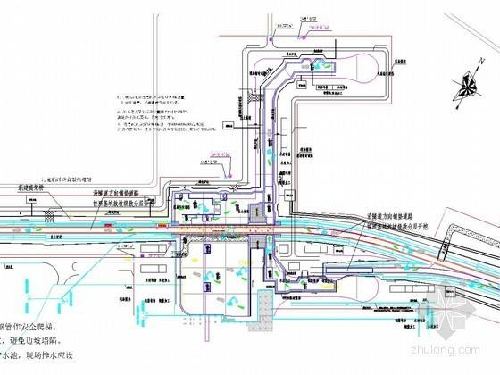[浙江]航站楼深基坑开挖支护及降水施工方案(附施工图)