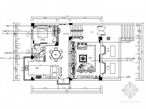 [南通]精装欧式豪华三层别墅室内装修图(含效果)