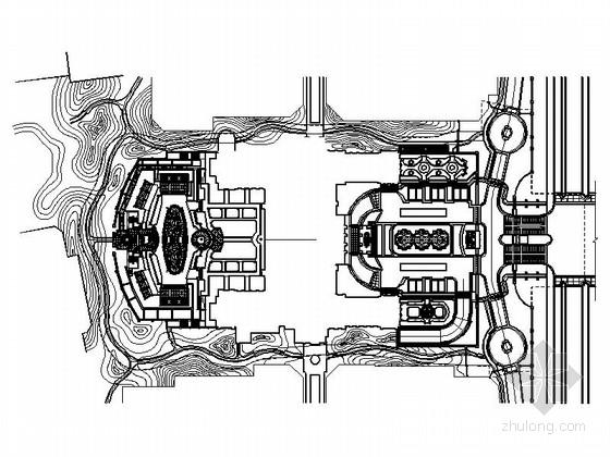 [北京]商业社区会所全套景观设计施工图(独家)