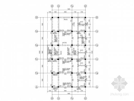 [武汉]仿古四合院混合结构施工图
