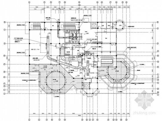[浙江]国际综合旅游度假区通风防排烟设计施工图(知名项目)
