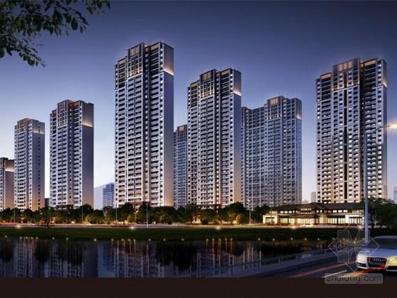 [南京]artdeco风格高层住宅区规划设计方案文本