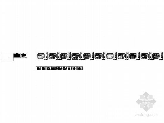 [宁波]姚江官邸雅致现代两居室装修施工图资料图纸总缩略图