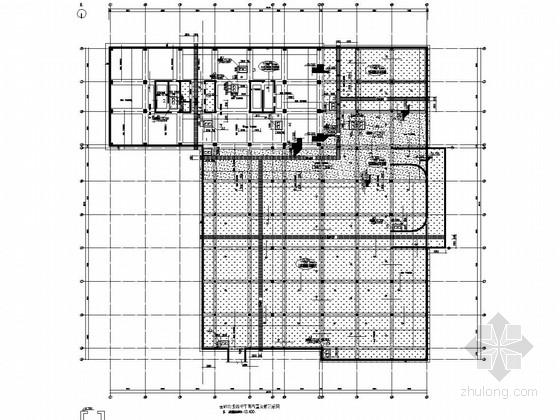[陕西]20层框剪结构商务办公楼结构图(筏板基础)